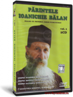 Father Ioanichie Bălan. Dialogue with painter Sorin Dumitrescu. Vol. 1